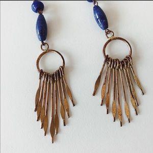2b3b424706 Isabel Marant Jewelry - Isabel Marant Jacque Multi Stone Lazuli Earrings